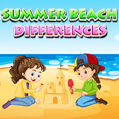 Summer Beach Differences gameplay
