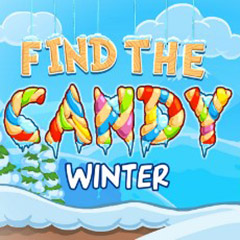 Find The Candy: Winter gameplay